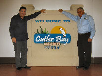 new Cutler Bay signs